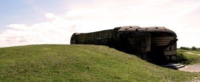 Guerra mondiale del bunker 2 Normandia 2015 Fotografie Stock Libere da Diritti