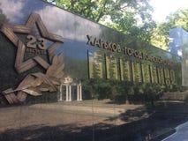 Guerra monumentos 23 de agosto fotografía de archivo libre de regalías