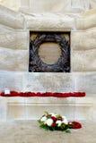 Guerra mundial del cementerio de la choza de Tyne primera Flandes Bélgica Imágenes de archivo libres de regalías