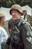 Guerra Mundial histórica de la reconstrucción Segunda Retrato de s alemán Fotografía de archivo