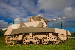 Guerra mundial Stuart M4A1 do tanque Fotos de Stock