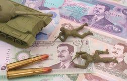 Guerra nell'Iraq fotografie stock