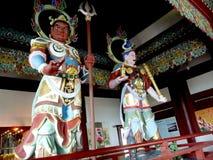 Guerra no templo imagens de stock royalty free