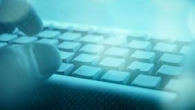 Guerra nova do computador do terrorismo do Cyber video estoque