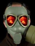 Guerra nuclear Imagen de archivo libre de regalías