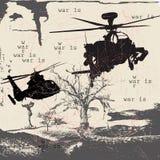 A guerra realiza-se? Imagens de Stock