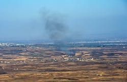 Guerra in Siria Fotografia Stock Libera da Diritti