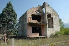 Guerra y asesinato en Bosnia Imagen de archivo libre de regalías