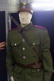Guerras dos Balcãs históricas do cavaleiro do cavalo das forças armadas do grego uniformes Imagem de Stock Royalty Free