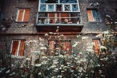 Guerre à Donetsk Images libres de droits