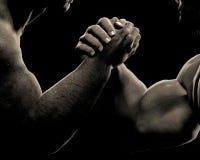 Guerre biologique en esclavage d'amitié Photos libres de droits