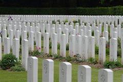 Guerre Cemtery Allemagne de Reichswald WW2. photo libre de droits