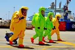 Guerre chimique et biologique photo libre de droits