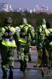 Guerre chimique et biologique image libre de droits