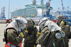 Guerre chimique et biologique photos libres de droits
