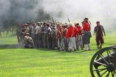 Guerre civile Image libre de droits