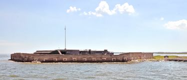 Guerre civile américaine : Fort Sumter images stock