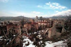 GUERRE CIVILE BOSNIENNE Photos libres de droits
