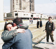 GUERRE CIVILE BOSNIENNE Photos libres de droits