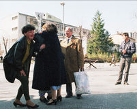 GUERRE CIVILE BOSNIENNE Photos stock