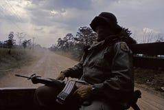Guerre civile colombienne Photographie stock