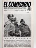Guerre civile espagnole Magazine le commissaire aucun 13 antichars Images stock