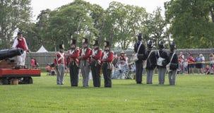 Guerre de 1812 photographie stock