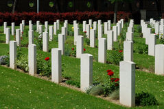 guerre de cimetière Image stock