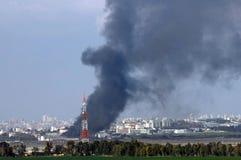 Guerre de Gaza image libre de droits
