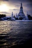 guerre de la Thaïlande d'arun Photos libres de droits