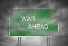 Guerre en avant photos libres de droits