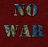 Guerre, il est impossible d'assumer la guerre Image stock