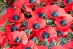 Guerre mondiale de jour d'anzac de souvenir de pavot 1 Photo stock