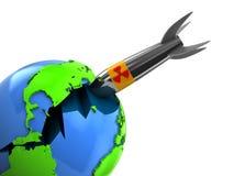 Guerre nucléaire Photo libre de droits