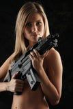 Guerre sexy Photos libres de droits