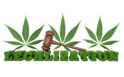 Guerre sur des drogues Illustration Libre de Droits