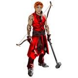 guerreiro Foto de Stock Royalty Free