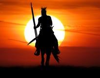guerreiro fotografia de stock