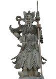 Guerreiro chinês das estátuas em Wat Pho, Banguecoque Tailândia Foto de Stock