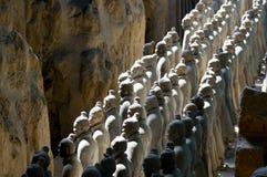 Guerreiro chinês do Terra-cotta Foto de Stock Royalty Free