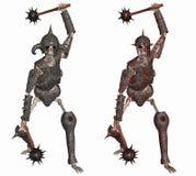 Guerreiro de esqueleto Fotografia de Stock Royalty Free