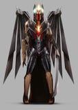 Guerreiro do anjo Imagens de Stock Royalty Free