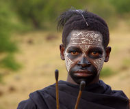 Guerreiro 2 do Masai Fotografia de Stock
