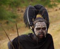Guerreiro 1 do Masai Foto de Stock Royalty Free