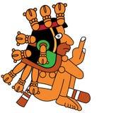 Guerreiro do Maya ilustração do vetor