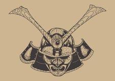 Guerreiro do samurai Foto de Stock