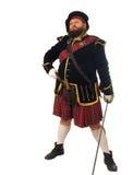 Guerreiro escocês Fotos de Stock Royalty Free