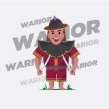 Guerreiro idoso - Imagem de Stock Royalty Free