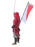 Guerreiro japonês Foto de Stock Royalty Free