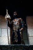 Guerreiro maia antigo Fotos de Stock Royalty Free